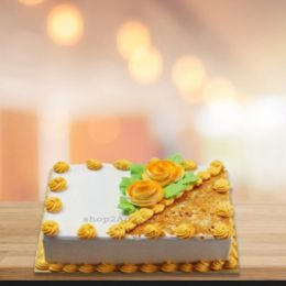 Delicious Butterscotch Eggless Cake