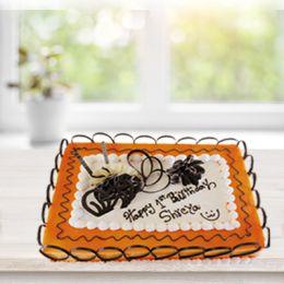 Ravishing Butterscotch Eggless Cake