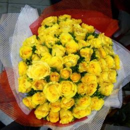 Yellow Roses_Bunch